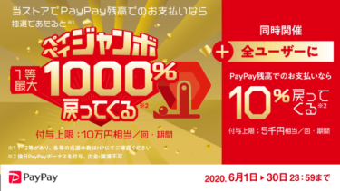 PayPayのキャンペーンに乗っかってWinTicketにチャージしてみた